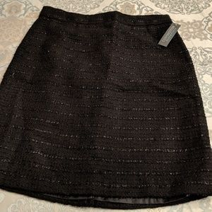NWT Black and Silver Skirt
